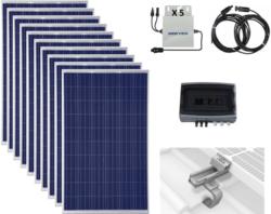 Kit autoconsommation solaire photovoltaïque
