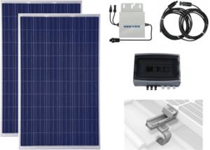 2 modules solaire photovoltaïques autoconsommation