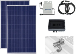2 self-consumption photovoltaic solar modules