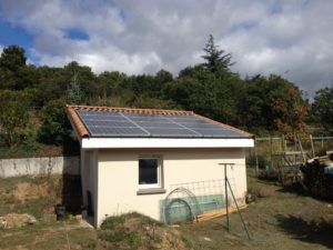 Greens un photovoltaic self-consumption kit