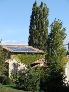 Photovoltaic achievements: Ardèche - self-consumption - installed capacity 3 kWc