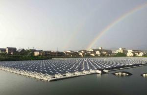 centrale solaire flottant