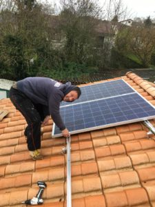 installation solaire autoconsommation Vienne