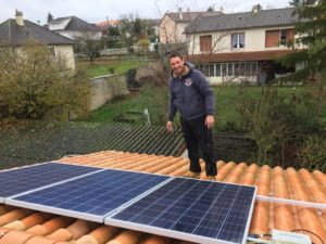 Recyclage installation autoconsommation Yvelines