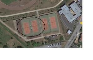 Couverture tennis photovoltaique