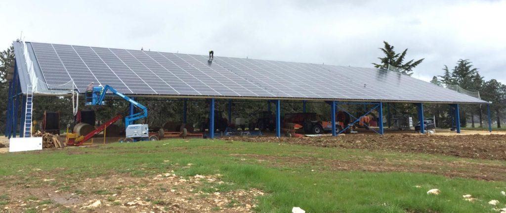 Hangar agricole photovoltaïque - Vertsun.com