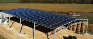Hangar agricole photovoltaique Vertsun
