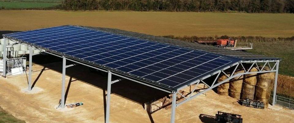 Hangar agricole photovoltaïque
